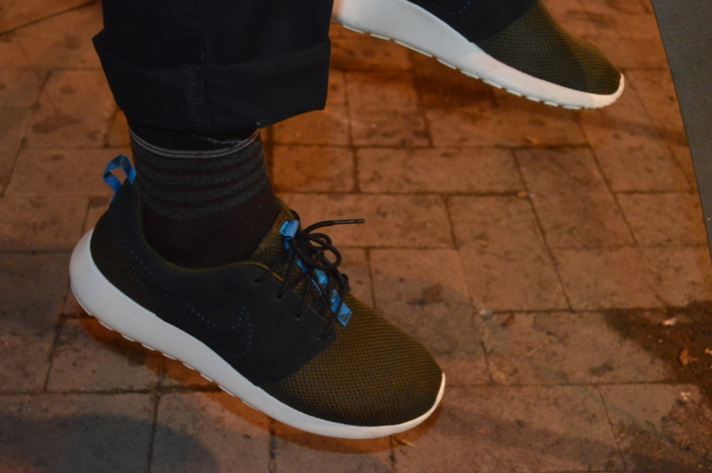 Nike Roshe Run Nere Indossate