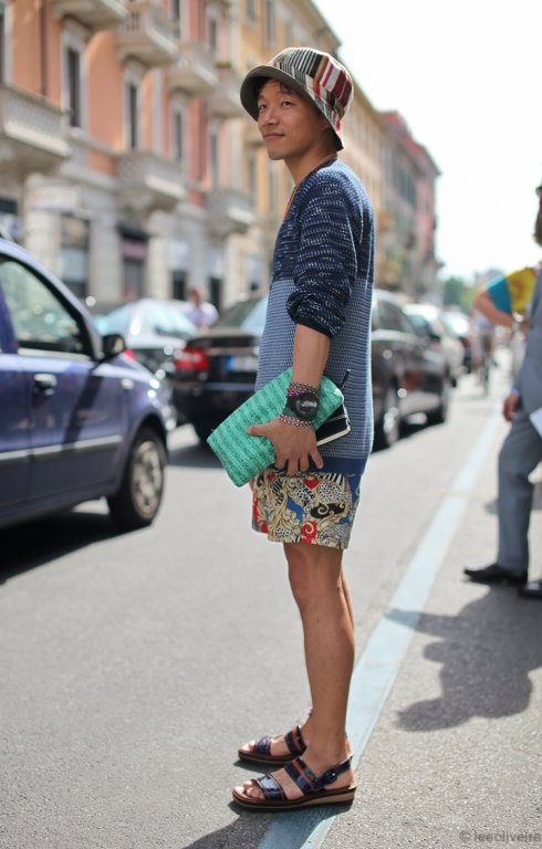 fashion week 2013 street style men